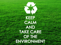 Why care for the environment?